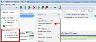 Copy uTorrent Downloads To External Device Android USB iOS