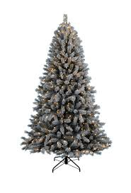 Pre Lit White Flocked Christmas Tree by Fairbanks Flocked Pre Lit Christmas Tree Christmas Tree Market