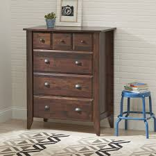 White 3 Drawer Dresser Walmart by Better Homes And Gardens Leighton 4 Drawer Chest Rustic Cherry