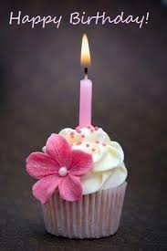 Happy birthday images · yummy birthday cupcake