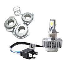 Harley Davidson Light Bulbs by Amazon Com Jdm Astar 2000 Lumens Universal Fit H4 Led Headlights