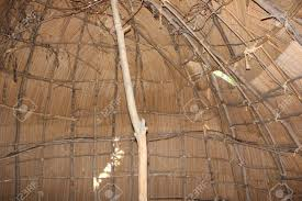 100 Meadowcroft Inside The Wigwam At Rockshelter Stock Photo Picture