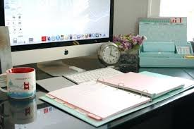 Home fice Desk Accessories Simply Organized Home fice With