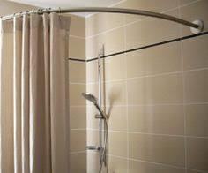tringle a rideau demi cercle barre coudée à angle droit sensea 90 cm 30 small showers