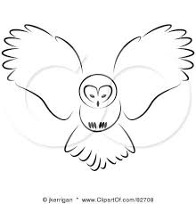 Drawn Owl Simple 6