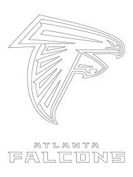 Atlanta Falcons Logo Coloring Page From NFL Category Select 24652 Printable Crafts Of Cartoons