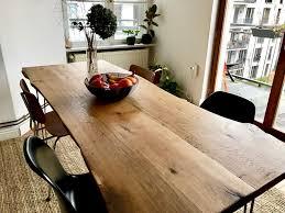 wunderschöner großer esstisch aus echtholz ein besonderes