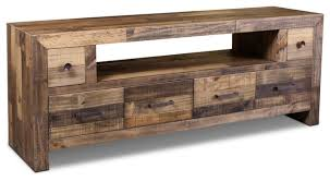 Popular Rustic Style Fulton TV Stand 72 Contemporary Entertainment With Regard To Tv Stands Remodel 19