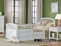 Twin Captains Bed With 6 Drawers by White Beds For Girls Yale White Twin Bed With Storage Girls