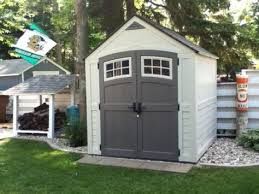 Rubbermaid Roughneck 7x7 Shed Accessories by I Am Imagining All The Items I Could Store In This Shed The