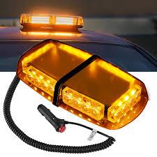 100 Emergency Strobe Lights For Trucks Finether 24 LED Vehicle Rooftop Hazard Police Warning