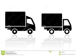 Delivery Truck Icon Stock Vector. Illustration Of Minimal - 63979826