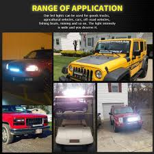 LED Light Bar AAIWA Led Bar 22 Inch 270W 27000LM Triple Row Flood ... Poppap 300w Light Bar For Cars Trucks Boat Jeep Off Road Lights Automotive Lighting Headlights Tail Leds Bulbs Caridcom Lll203flush 3 Inch Flush Mount 20 Watt Lifetime 4pcs Led Pods Flood 5 24w 2400lm Fog Work 4x 27w Cree For Truck Offroad Tractor Wiring In Dodge Diesel Resource Forums Best Wrangler All Your Outdoor 145 55w 5400 Lumens Super Bright Nilight 2pcs 18w Led Yitamotor 42 400w Curved Spot Combo Offroad Ford Ranger