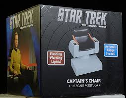 Star Trek Captains Chair by Review And Photos Of Captain Kirk U0027s Chair Star Trek 1 6th Diorama