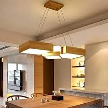 henley holz pendelleuchte esszimmer le led 36w design pendelle mit acryl lenschirme hängele höhenverstellbare hängeleuchte für wohnzimmer