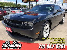 ALEJANDRO CARS & TRUCKS INC   Used 2013 Black Dodge Challenger For ...