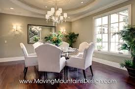 Model Home Dining Rooms Luxury Room Staging In Arcadia