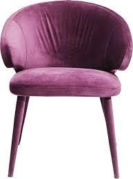kare design stuhl purple armlehnstuhl in feinem