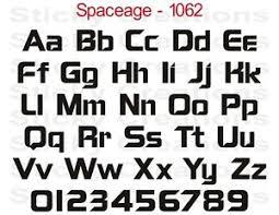 1062 CUSTOM VINYL LETTERING Windshield Decal Graphic Sticker Bold