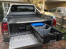 100 Truck Bed Drawers Deck Box Decked System Decked Storage System For Sale