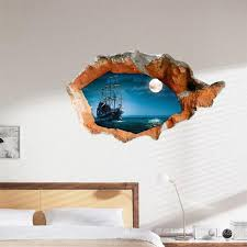 3D Wall Stickers Decorative Painting Wallpaper Art Decor Mural Child Room Home Decoration Removable Bedroom Sitting In From