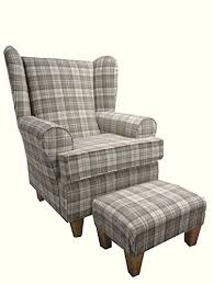 latte tartan fabric with a base design and a