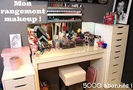 rangement maquillage makeup collection 5000 abonnés