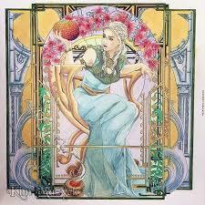 Daenerys Targaryen Book Game Of Thrones Faber Castell