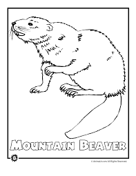 Endangered Animals Coloring Pages From North America