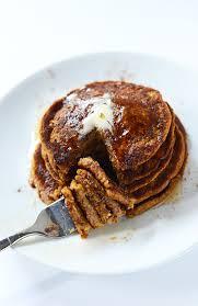 Pumpkin Pancakes With Gluten Free Bisquick by Vegan Pumpkin Pancakes Minimalist Baker Recipes