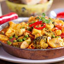 recette curry végétarien au tofu et aux légumes facile rapide