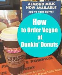 Dunkin Donuts Pumpkin Latte Gluten Free by How To Order Vegan At Dunkin U0027 Donuts Peta