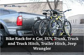 100 Bike Rack For Trucks Best Inexpensive For A Car SUV Trunk Truck And Truck