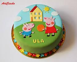 tort świnka peppa peppa wutz kindergeburtstag ideen