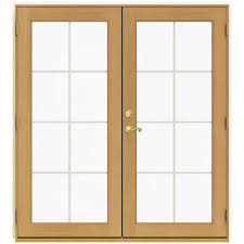 French Patio Doors Outswing Home Depot by Wood French Patio Door Patio Doors Exterior Doors The Home