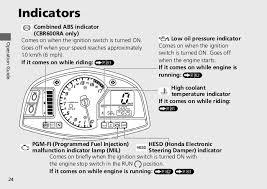 Malfunction Indicator Lamp Honda Fit by 2012 Owner Manual Honda Cbr600rr