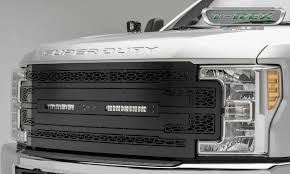 Bold New 2017 Ford Super Duty Grilles Now Available From T-Rex Truck ... Amazoncom Toyota Pt22835170 Trd Grille Automotive 72018 F250 F350 Kelderman Alpha Series Km254565r Billet Grilles Custom Grills For Your Car Truck Jeep Or Suv Of Rbp Ford Venom Motsports Grills Your Car Truck Jeep Suv 2018 Ford F150 Aftermarket Unique Best Mod And For A Chrysler 300 Resource Diy Mods 20 Honeycomb Insert From The Horizontal Chroniclecustom Chronicle 0306 Tundra Evolution Stainless Steel Wire Mesh Packaged Trex Install 2008 Chevy Tahoe Truckin Magazine Sema 2015 Top 10 Liftd Trucks