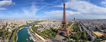 Paris Eiffel Tower Panorama Photo World