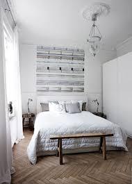 Scandinavian Bedrooms And Distressed Wood