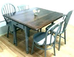Dining Room Table Plans With Leaves Drop Leaf Plan Chic