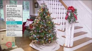 Qvc Christmas Tree Recall by Ed On Air 5 U0027 Mixed Ming Tip Baby U0027s Breath Tree By Ellen Degeneres