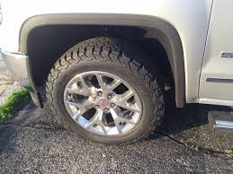100 All Terrain Tires For Trucks SilveradoSierracom 2014 GMC Sierra Wheels