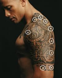Dwayne Johnson Tattoo 2
