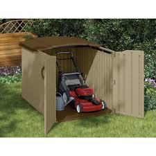 Suncast Horizontal Utility Shed 20 Cu Ft outdoor suncast storage shed garbage sheds craftsman shed