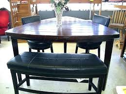 Triangular Dining Sets Triangle Bar Height Table Pub Style Set Best Of Shaped Room Full Size