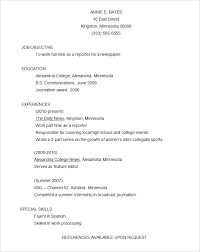 Functional Resume Example Template Sample Canada