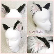 how to make cat ears basic black realistic kitten ears cat ears black and white