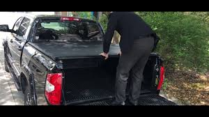 100 Truck Bed Covers Roll Up Installation Tonneau Cover Without Track System And Bar