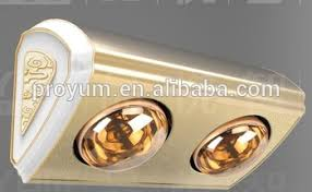 wall mounted electrical bathroom fan heater 2 infrared light