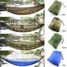 Portable High Strength Hammocks Jungle Camping Hammock Mosquito